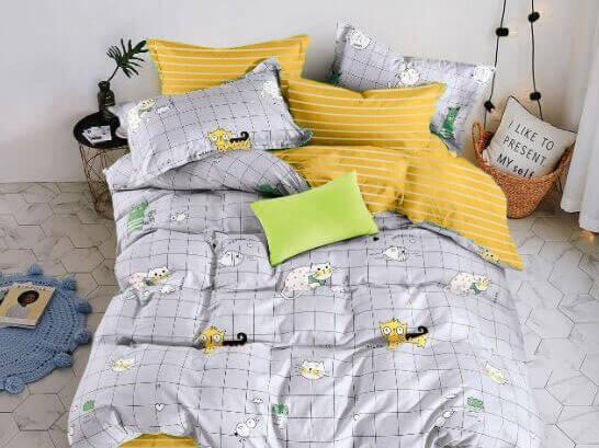 Детское постельное бельё Sweet Dreams Cute Kittens (на резинке + молния) купить в Москве и России, цена 2 400 руб.